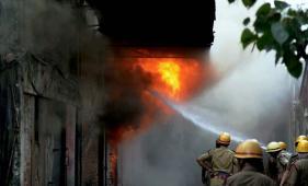 Devastating Fire in Kolkata Market Kills Two, Damage Goods Worth Crores