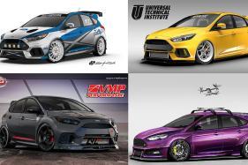 Customised Ford Focus Hot-Rod Cars Heading Towards SEMA 2017