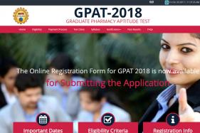 GPAT 2018 Online Application Process Starts Today at aicte-gpat.in; Last date 18th December 2017