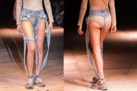Daring Designer Launches a Line Of Thong Jeans