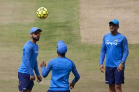 Sun Shining Bright As Hyderabad Prepares for Kohli-Warner Battle