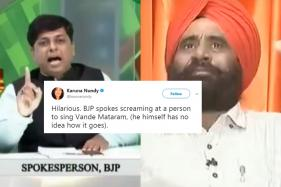 BJP Spokesperson Trolled After He Struggles To Recite Vande Mataram