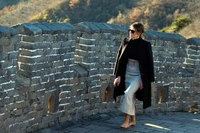 First Lady Melania Trump Visits The Great Wall of China