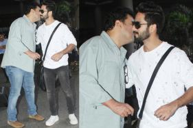 Airport Sightings: Shahid Kapoor Bonds With Siddharth Roy Kapur