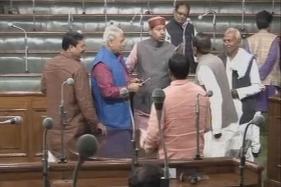 Scuffle Between JD(U) and RJD Members Inside Bihar Assembly