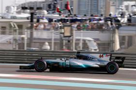 Lewis Hamilton Fastest in Final Practice of the Season