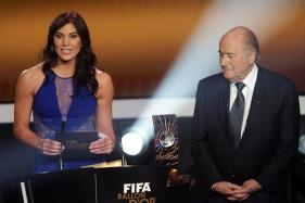 USA Goalkeeper Hope Solo Accuses Ex-FIFA Chief Sepp Blatter of Groping Her