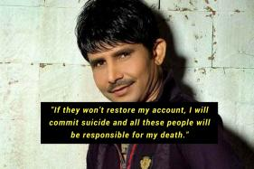 'Depressed' Over Suspended Twitter Account, KRK Threatens To Commit Suicide