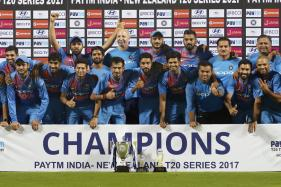 3rd T20I: Bowlers Shine As India Edge New Zealand In Rain-curtailed Decider