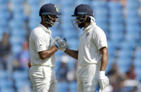 India vs Sri Lanka: Centurions Vijay & Pujara Put Hosts in Command