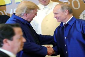 Donald Trump, Vladimir Putin Share Brief Handshake at APEC Summit in Vietnam