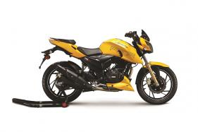 TVS Apache RTR 200 4V with Electronic Fuel Injection Launched for Rs 1.07 Lakh