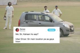 Twitter Goes On A Long Drive After Man Casually Drives Car Onto The Pitch
