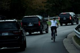 Cyclist Who Gave US President Donald Trump the Finger Loses Her Job: Report