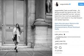TV Actor Sargun Mehta Embarks on a Solo Trip to Paris