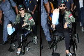 Kangana Ranaut Injured On Manikarnika Set; Flaunts Her Stuff at Airport