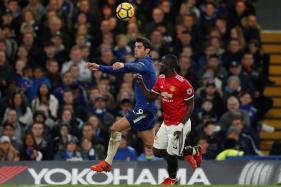 Alvaro Morata Strikes as Chelsea Derail Man United Title Bid