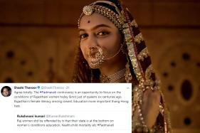 Padmavati Row An Opportunity to Focus on Conditions of Rajasthani Women Today: Shashi Tharoor