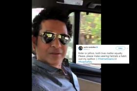 Sachin Tendulkar Has This Important Road-Safety Advice for Bikers