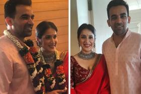 Zaheer Khan, Sagarika Ghatge Are Officially Married; See First Pics