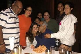 Sridevi Hosts Birthday Bash for Boney Kapoor With Daughters Jhanvi, Khushi