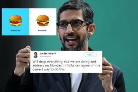 Sundar Pichai Keeps Promise, Delivers The Correct Burger Emoji In 30 Days