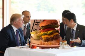 Donald Trump's Humble Lunch With Shinzo Abe Has Skyrocketed Burger Sales In Japan