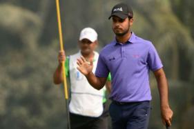 Shubhankar Sharma Four Ahead When Joburg Open Play Halted