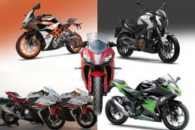 Top 5 Sport Bikes of 2017 Under Rs 4 Lakh
