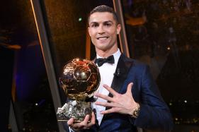 Cristiano Ronaldo Wins Ballon d' Or 2017
