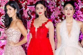 Katrina, Alia, Kareena Dazzle at Lux Golden Rose Awards 2017