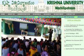 Krishna University UG 5th Semester, Pharma-D 1st & 3rd Semester Results 2017 Declared krishnauniversity.ac.in; Check Now!