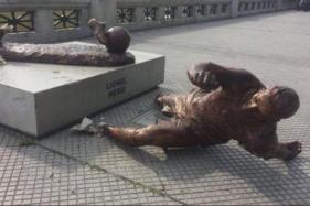 Messi Statue Vandalised for Second Time This Year