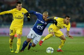 Paris St Germain Suffer Shock First Defeat of the Season at Strasbourg