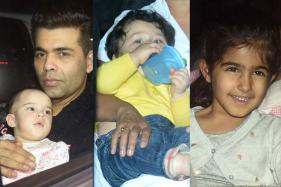 Rani Mukerji's Daughter Adira's B'day: Star Kids Grab Eyeballs