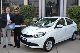 Tata Motors Delivers First Batch of Tata Tigor EVs to EESL