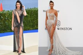 11 Most 'Naked' Red Carpet Looks of Celebrities in 2017