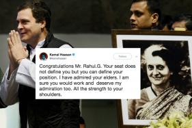 Kamal Hasaan, Among Others, Congratulates The Newly Appointed Congress Prez Rahul Gandhi