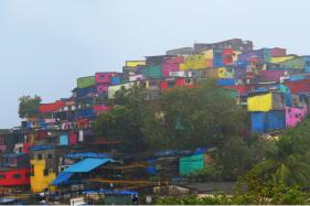 How Mumbai Is Turning Its Slums into A Palette Of Colours