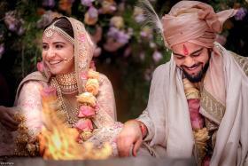 Anushka Sharma, Virat Kohli In Sabyasachi Attires Are What Wedding Dreams Are Made Of