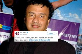 Here's Why Zomato Ad Hoarding Brought A Smile On Anu Malik's Face
