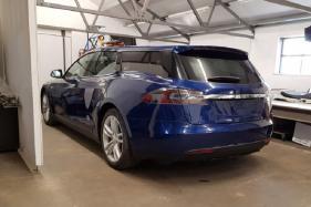 Tesla Model S Modification Craze Isn't Over, Estate Car After the Limousine