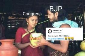 Twitter Erupts With Jokes As BJP Wins Gujarat Elections