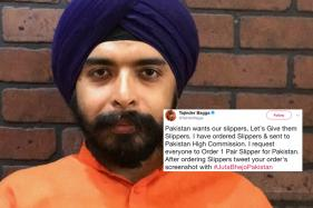 This BJP Leader Wants you Send Slippers to Pakistan; Find Out Why
