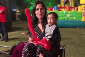 Katrina Kaif Bonding With Salman Khan's Nephew Ahil Will Definitely Make You Go Aww