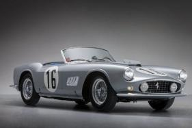 Most Expensive Cars Sold at Public Auction in 2017
