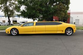Ferrari 360 Modena Limousine Listed on eBay for $104,400, Fails to Get Buyer