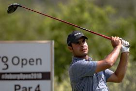 Shubhankar Sharma Holds Nerve to Claim Maiden Tour Win at Joburg Open