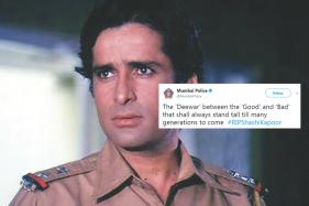 Mumbai Police Have the Perfect Tribute for Shashi Kapoor