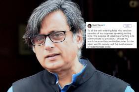 Shashi Tharoor Made Everyone Grab Their Dictionaries, Once Again